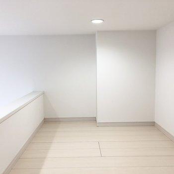居室に収納はないのでロフトを上手に活用したいですね。