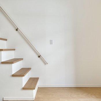 階段に物を置き過ぎないように注意したいところ!