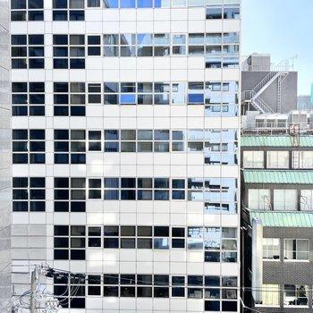 眺望はオフィスビルビュー。