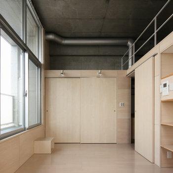 やさしい空間です。※写真は2階の同間取り別部屋のものです