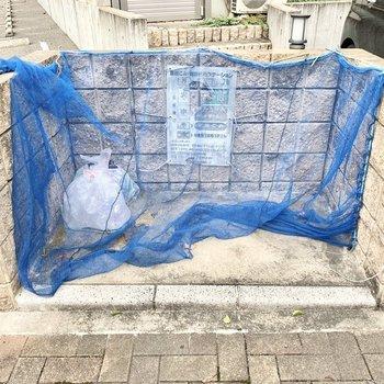 敷地内にゴミ置き場○