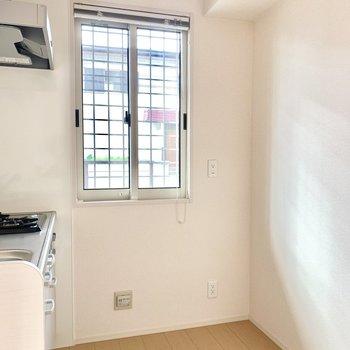 冷蔵庫や食器棚スペースもしっかり○床下収納もあります。