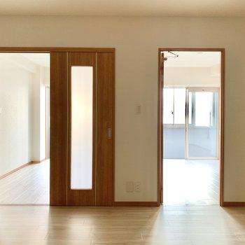 洋室は全部で3部屋。