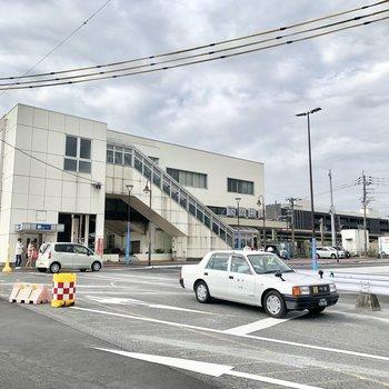 下曽根駅内にはコンビニもあります。