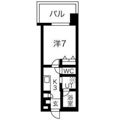 ☆新築★S-RESIDENCE円山表参道(エスレジデンス円山表参道)の間取り