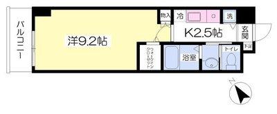 ワイアール新横浜駅前ハイツの間取り