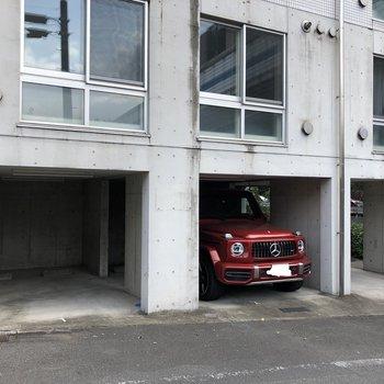 駐輪場もあります。