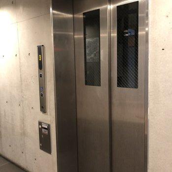 エレベーターがあるのも嬉しいですね。