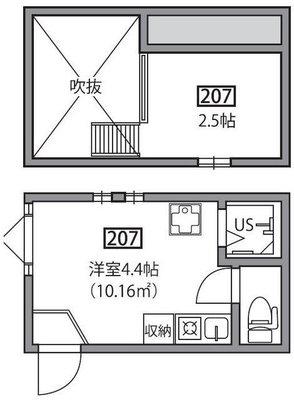 アーバンプレイス江古田ⅣA棟の間取り