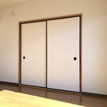 【LDK】こちらから和室へ行けます。