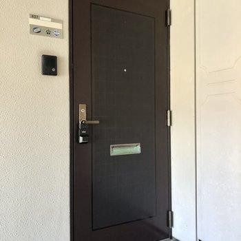 お部屋は4階です。