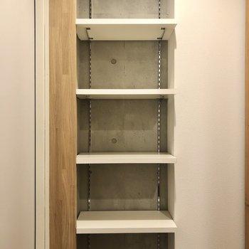 お気に入りの靴を並べたいなあ。※写真は3階の同間取り別部屋のものです