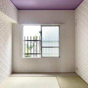 和室も6畳です。寝室にするとぐっすり眠れそう。