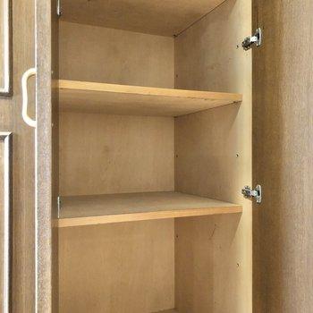 アウトドア用や靴用と、普段使わない用にと分けて使うことができますね。