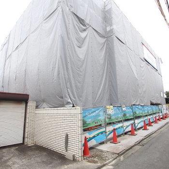 (仮)浦和区岸町共同住宅新築工事