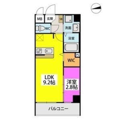 (仮称)姪浜駅南3丁目ビルの間取り