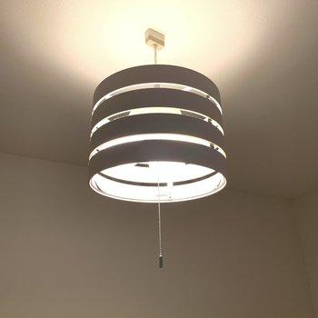 【残置物】お部屋をレベルアップしてくれる照明。