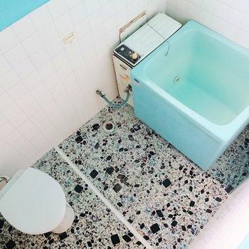 お風呂とトイレは一緒です。※写真は前回募集時のものです
