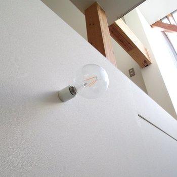 部屋の所々に可愛い電球も付いてます。※写真は前回募集時のものです