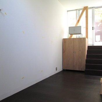 壁は白を基調としています。※写真は前回募集時のものです