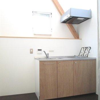 そして、キッチンは小窓付き。※写真は前回募集時のものです