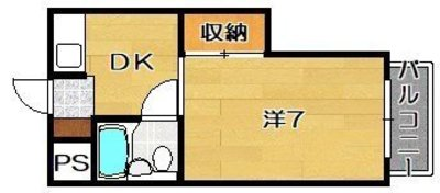 第33マンションの間取り