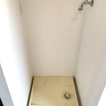 洗濯パンは玄関横