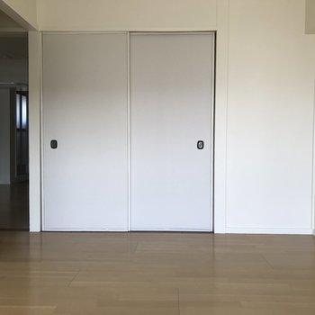 6帖の洋室。程よい広さです。