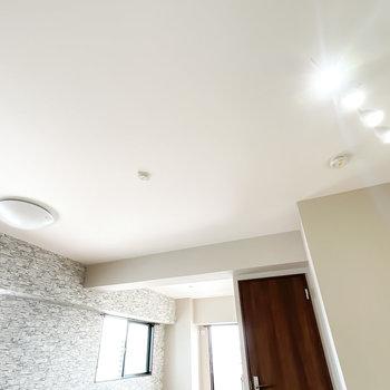 LDKには合わせて4つも照明を付けられるので、レトロ感のある明かりを灯したいですね。
