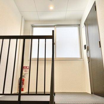 共用部】各フロア1部屋ずつ!しかも最上階で音の問題はなさそう。