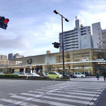 最寄り駅は桜通線の「高岳」。洗練された街として定評があり、街歩きを楽しめます。