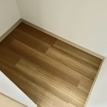 【1階:リビング】チビ収納は奥行きあり!(※写真は1階の同間取り別部屋のものです)