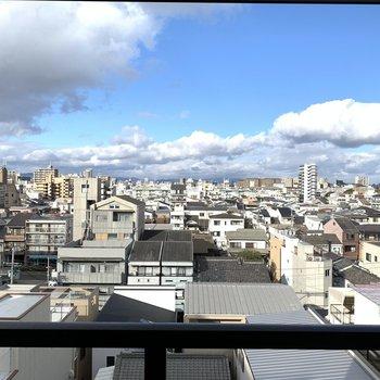 そして眺めがいいんです!雲と同じ高さ!
