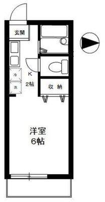 ジベ成城2の間取り