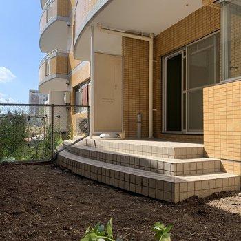 庭付きは1階の特権!家庭菜園にぴったりですね