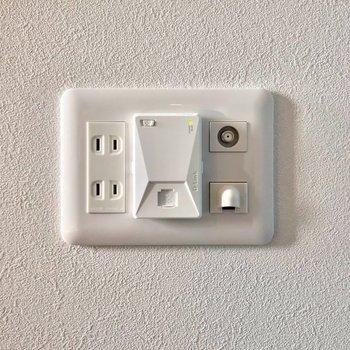 Wi-Fiも無料で使えます◯自宅での作業も捗りそうです!