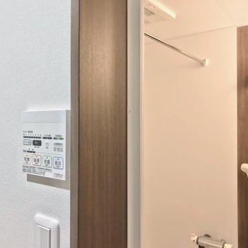 浴室乾燥機もありますよ!雨の日も安心ですね。