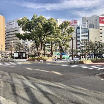 大森駅までは徒歩7分ほど