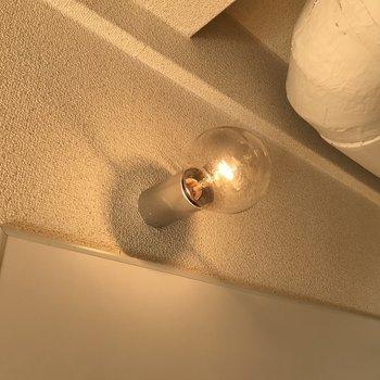 照明が可愛らしいんです
