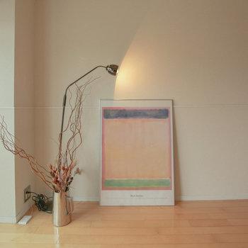 【イメージ写真】壁に照明を当てる素敵な演出も自由に。