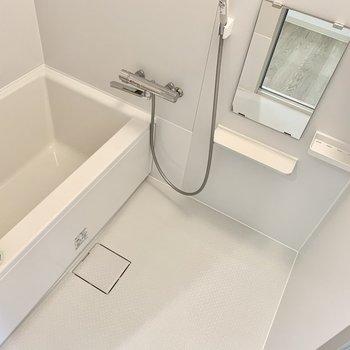 お風呂もきれいです。
