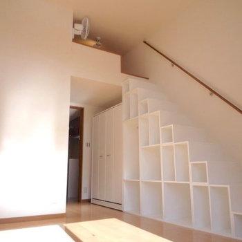 トップへの階段