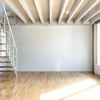 【洋室】ダブルベッドをどーんと置きたい。