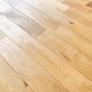 気持ちの良い無垢床。