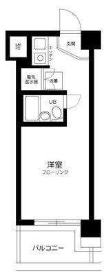 ライオンズマンション西新宿第5の間取り
