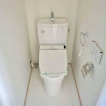 トイレも充実の設備 ※写真は前回募集時のものです