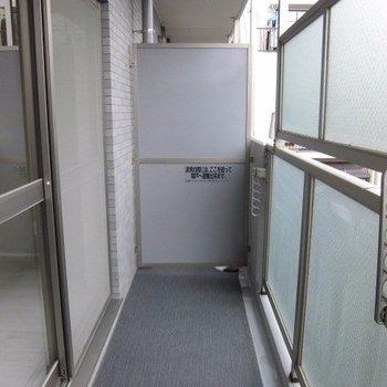 バルコニーはGOOD※写真は2階の同間取り別部屋のものです