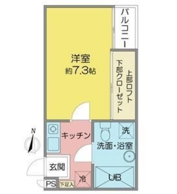 ANDY茶屋が坂の間取り