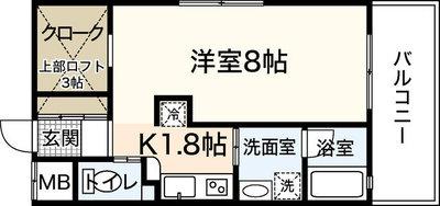 フォーリングステージ京橋の間取り