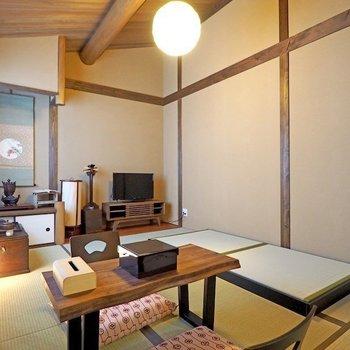京都西陣ろおじ(長唄の間)